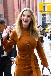 Betty Gilpin - Outside BUILD Studios in NYC 08/13/2019