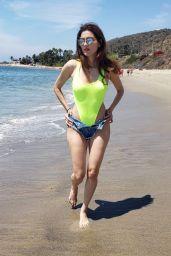 Blanca Blanco - Beach in Malibu 08/19/2019