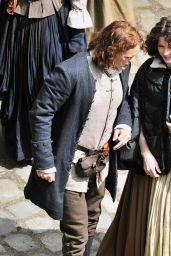 "Caitriona Balfe - ""Outlander"" Set in Fife, Scotland, June 2019"