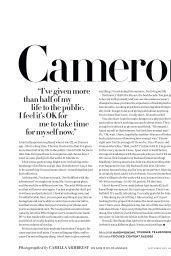 Cameron Diaz - InStyle Magazine September 2019 Issue