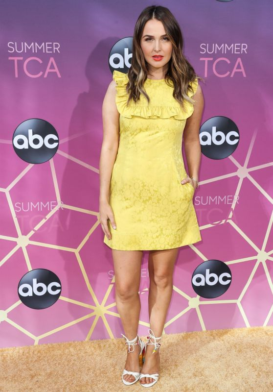 Camilla Luddington – ABC's TCA Summer Press Tour in West Hollywood 08/05/2019