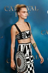 "Cara Delevigne - ""Carnival Row"" Premiere in London"