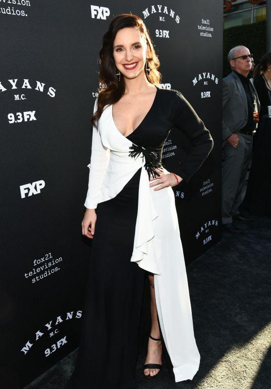 """Carla Baratta – """"Mayans M.C."""" TV show Season 2 Premiere in LA"""