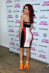 Carla Howe -The Selfie Factory Westfield Launch Party in London