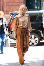 Cate Blanchett - Outside BUILD Studios in NYC 08/12/2019