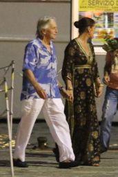 Catherine Zeta-Jones - Out in Italy 07/31/2019