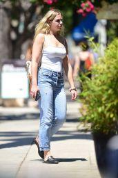 Chloe Lukasiak Street Style - Los Angeles 08/05/2019