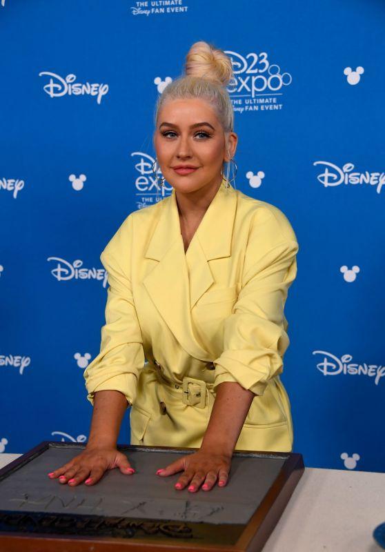 Christina Aguilera – D23 Disney+ Event in Anaheim 08/23/2019