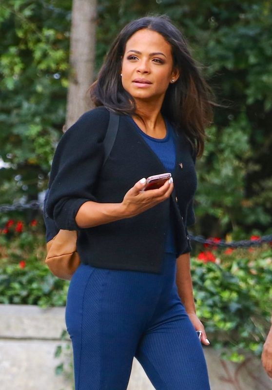 Christina Milian - Out in New York City 08/26/2019