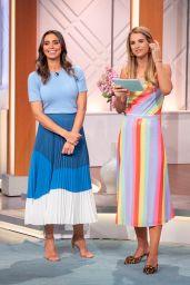 "Christine Lampard - ""Lorraine"" TV Show in London 08/06/2019"