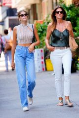 Cindy Crawford and Kaia Gerber - Out in LA 08/22/2019