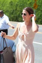 """Cobie Smulders – InStyle's """"Day of Indulgence"""" Party in Brentwood"""