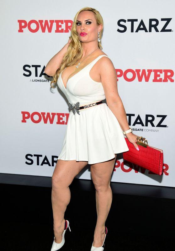 "Coco Austin – ""Power"" TV Show Final Season Premiere in New York"