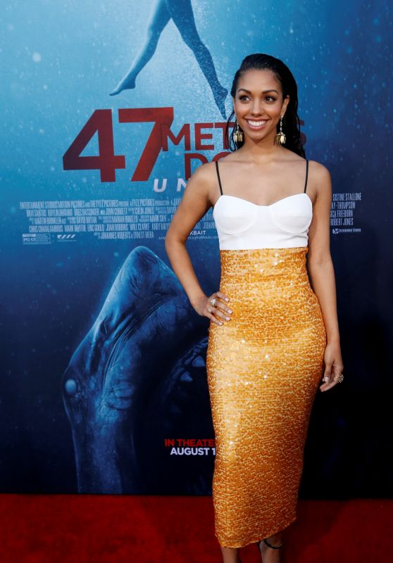 "Corinne Foxx – ""47 Meters Down: Uncaged"" Premiere in Los Angeles"