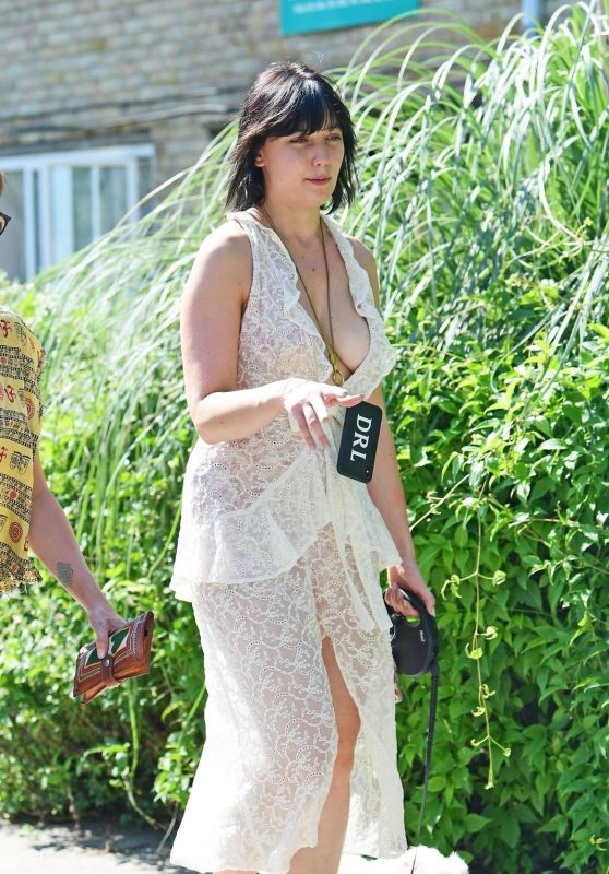 Daisy Lowe - Out in London 08/26/2019
