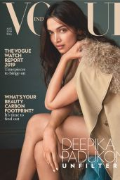 Deepika Padukone - Vogue India August 2019 Issue