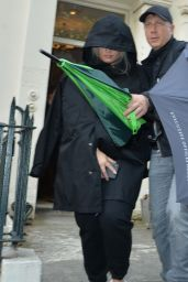 "Demi Lovato - Arriving on Set for a New Netflix Film ""Eurovision"" in London 08/20/2019"