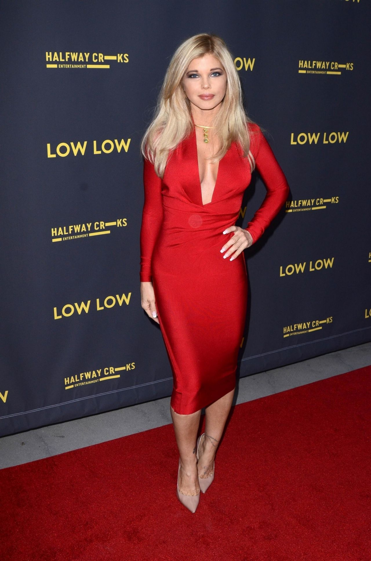 Donna D Errico Low Low Premiere In Hollywood 8 15 19