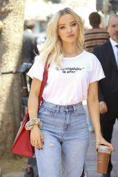 Dove Cameron Street Style - Los Angeles 08/10/2019