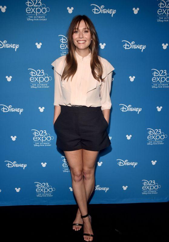 Elizabeth Olsen – D23 Disney+ Event in Anaheim 08/23/2019