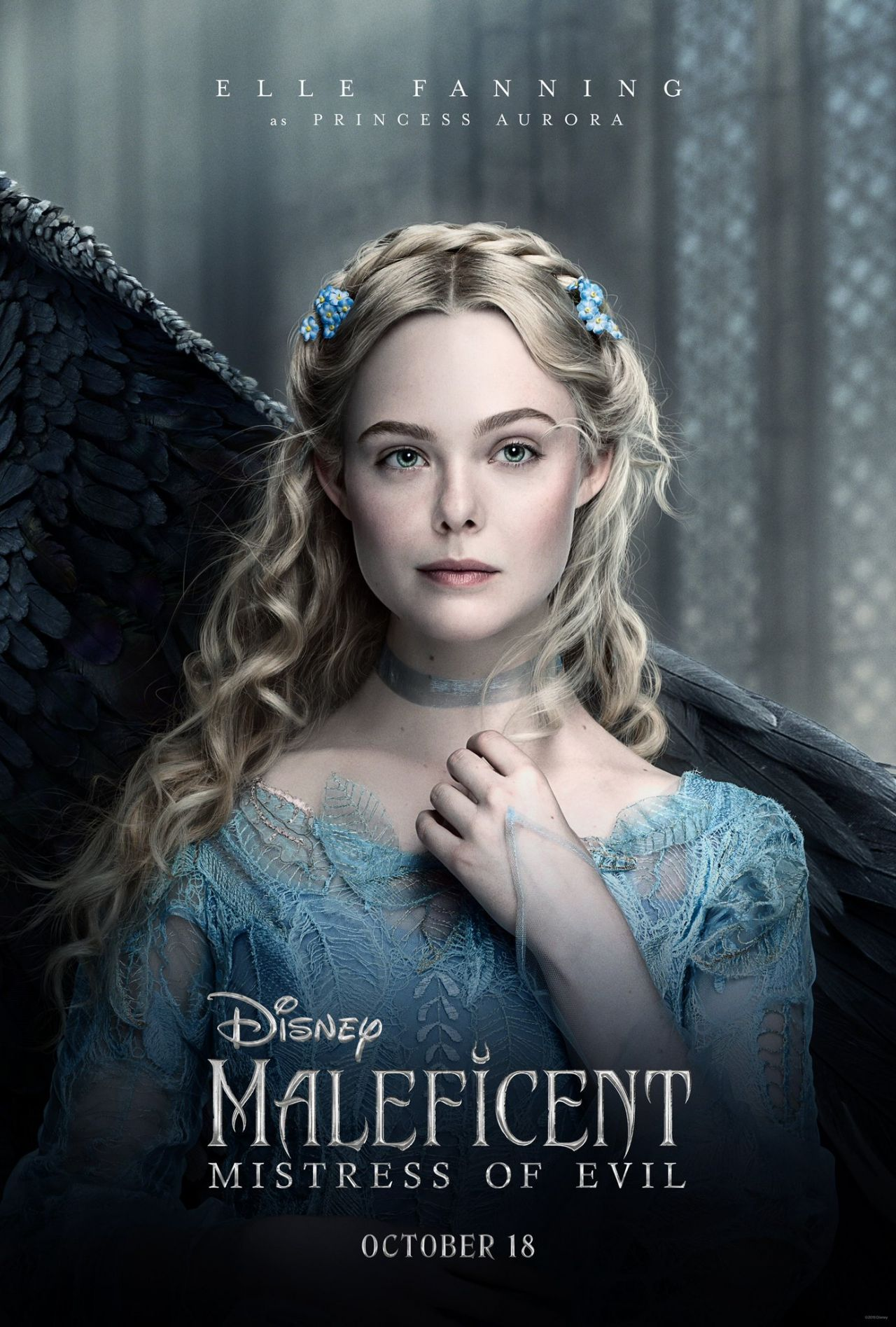 Elle Fanning Maleficent Mistress Of Evil Posters