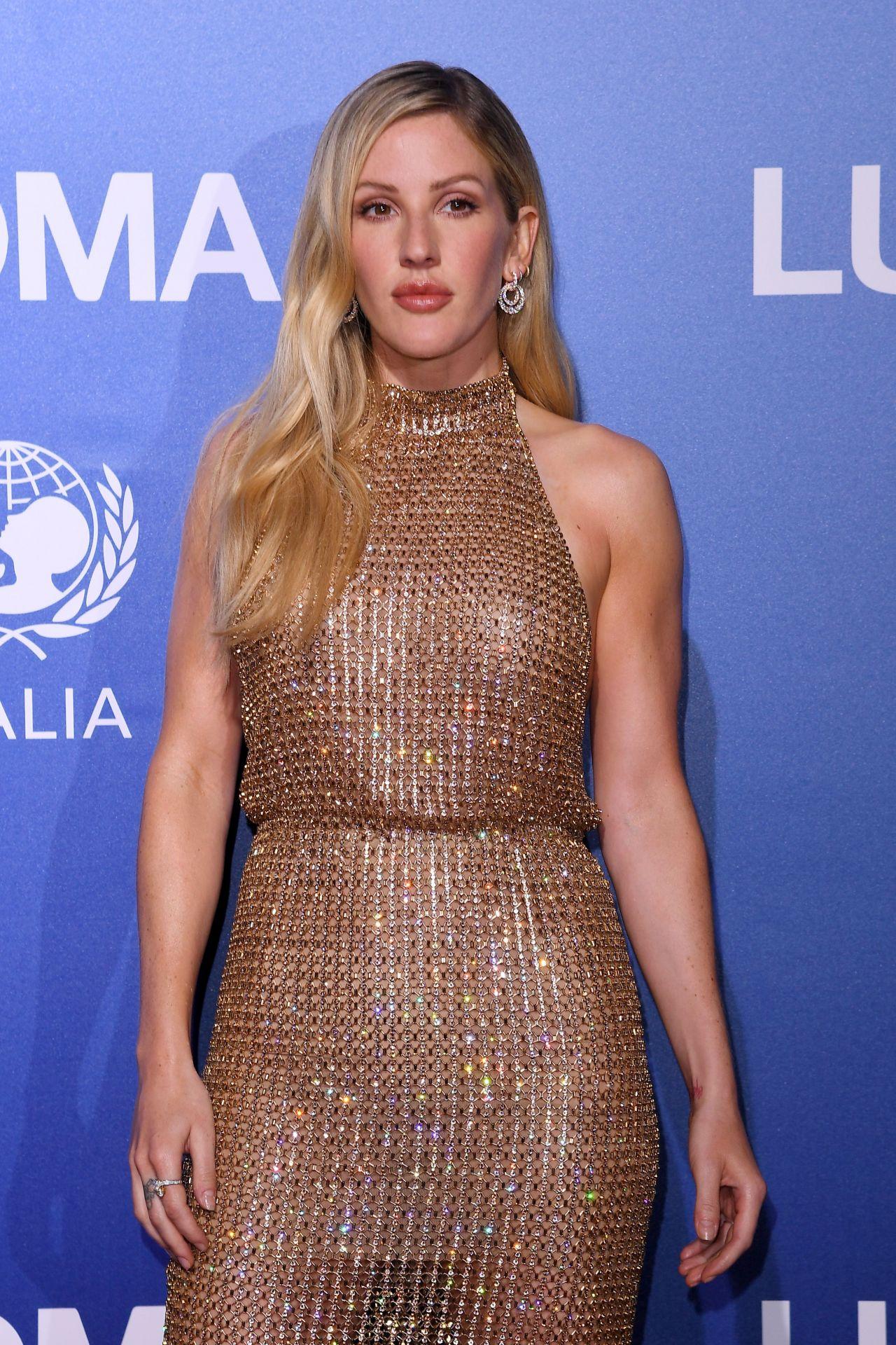 Ellie Goulding - UNICEF Summer Gala in Porto Cervo ...