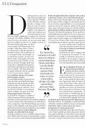Elsa Pataky - ELLE Spain September 2019 Issue