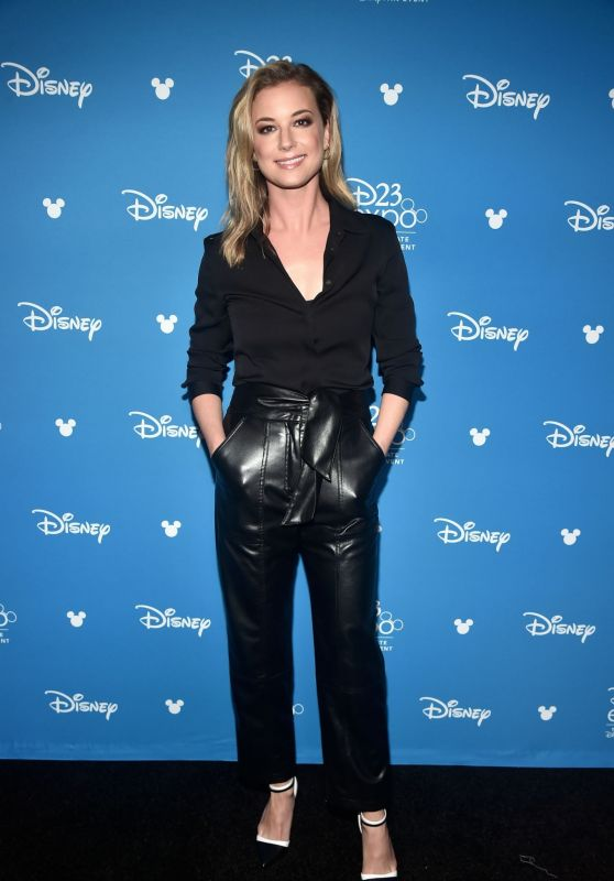 Emily Van Camp – D23 Disney+ Event in Anaheim 08/23/2019