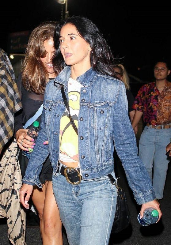 Emmanuelle Chriqui – Rolling Stones Concert in Pasadena 08/22/2019