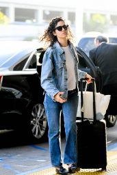 Emmy Rossum - LAX Airport in Los Angeles 08/07/2019