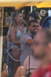 Ferne McCann - Beach Club in Ibiza 08/16/2019