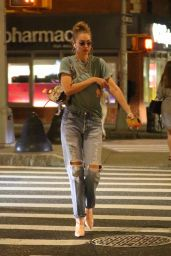 Gigi Hadid Street Style - NYC 08/13/2019