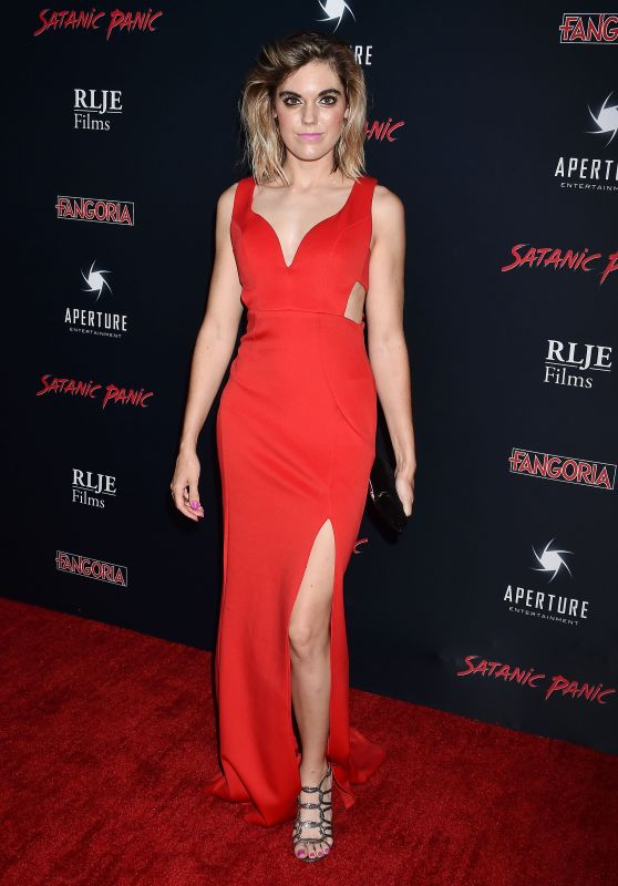 "Gina Hughes – ""Satanic Panic"" Premiere in Hollywood"