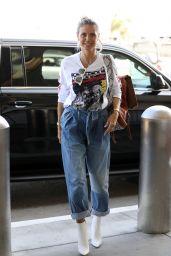 Heidi Klum - LAX Airport in Los Angeles 08/24/2019