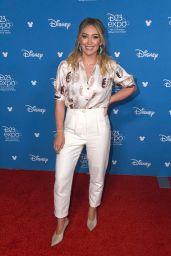 Hilary Duff – D23 Disney+ Event in Anaheim 08/23/2019