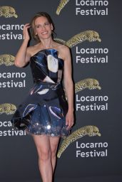 Hilary Swank - Receiving the Leopard Club Award at Locarno Film Festival 2019