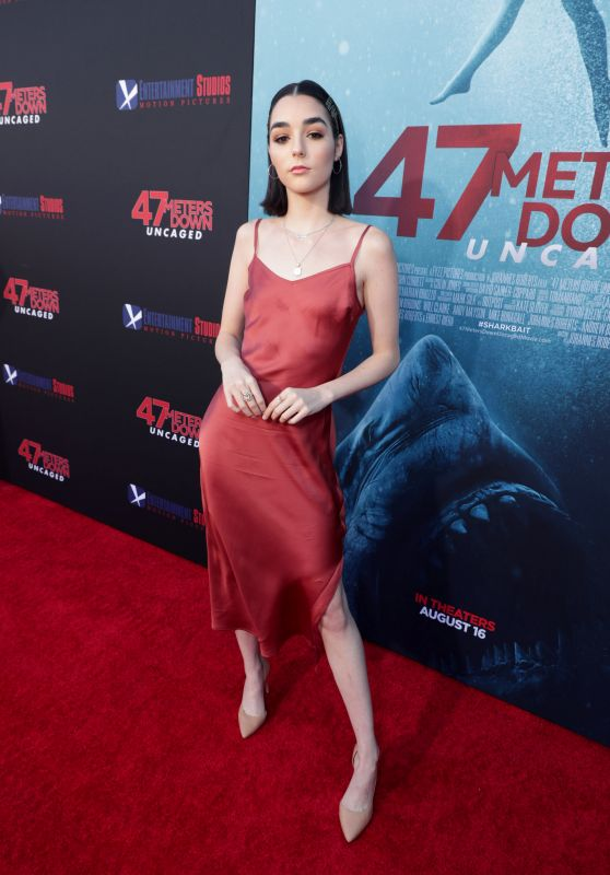 "Indiana Massara - ""47 Meters Down: Uncaged"" Premiere in Los Angeles"