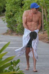 Jamie Chung in a Bikini on the Beach in Hawaii 08/18/2019