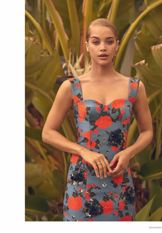 Jasmine Sanders - Hello! Fashion Monthly Magazine September 2019 Issue