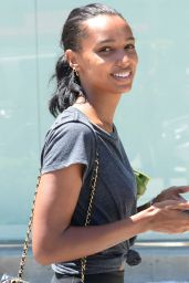 Jasmine Tookes - Leaving the Dog Pound Gym in West Hollywood 08/20/2019