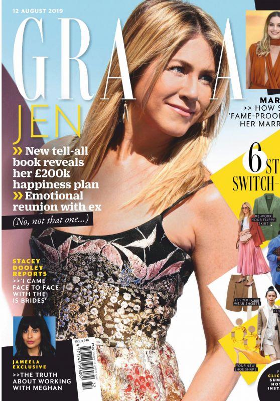 Jennifer Aniston - Grazia UK 08/12/2019 Issue