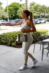 Jennifer Lopez in Spandex - Miami 08/20/2019