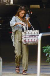 Jessica Alba - Arriving at Her Office in LA 08/26/2019