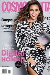 Jessica Alba - Cosmopolitan Russia September 2019 Issue