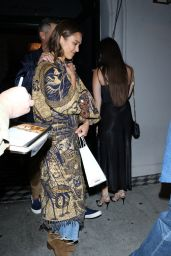Jessica Alba Style - Craigs Restaurant in West Hollywood 08/28/2019