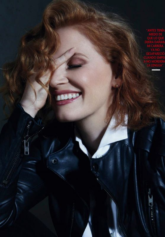 Jessica Chastain - Fotogramas Magazine September 2019 Issue