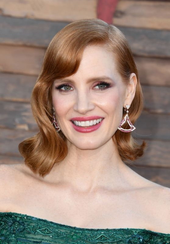 """Jessica Chastain - """"It: Chapter Two"""" Premiere in Westwood"""