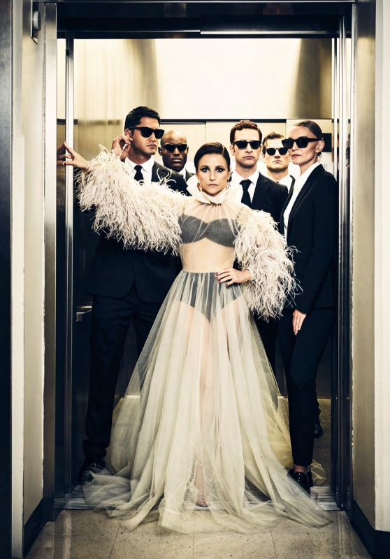 Julia Louis-Dreyfus - Vanity Fair September 2019 Issue