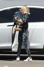 Julianne Hough - Arriving at a Studio in Los Angeles 08/02/2019