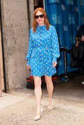 Julianne Moore - Kelly and Ryan Show in NYC 08/06/2019